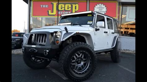 custom built wrangler  jeep dealer  nj youtube