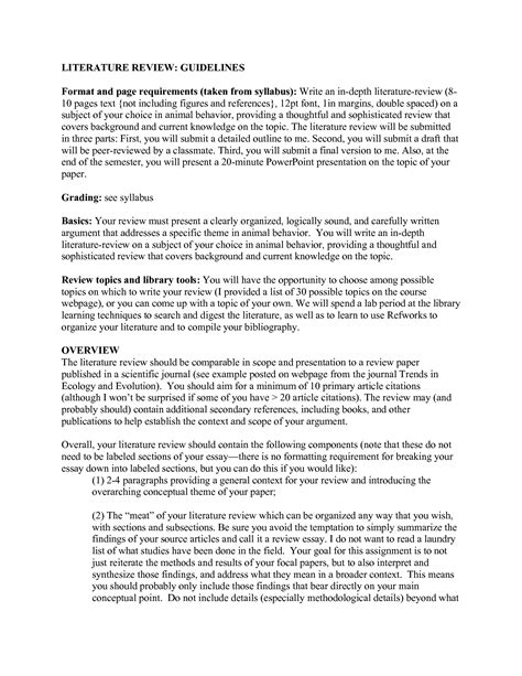 An example of a literature review apa style student loan company thesis servicing