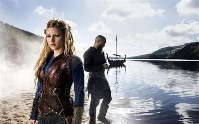 Vikings Parede Papel Lagertha Isso Previa Clique