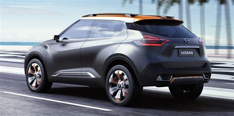 Nissan Mini Suv by Nissan Kicks Concept Previews Potential Small Suv For