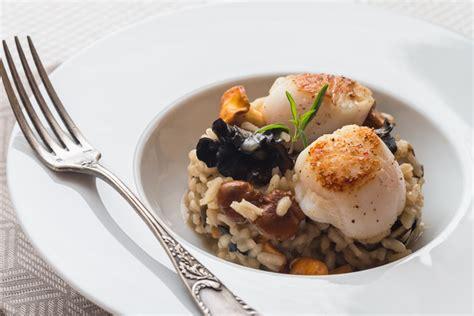 cuisine jacques risotto aux chignons st jacques cuisine addict