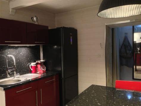 cuisine frigo davaus cuisine blanche frigo noir avec des idées