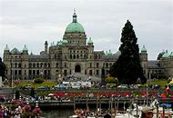 Map Victoria BC Waterfront