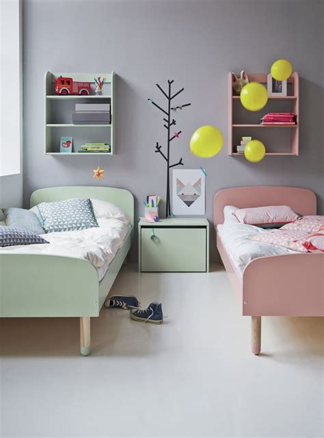 flexa pastel scandinavian style bedroom furniture from