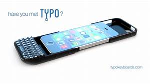 Typo keyboard: A hardware keyboard for your iPhone