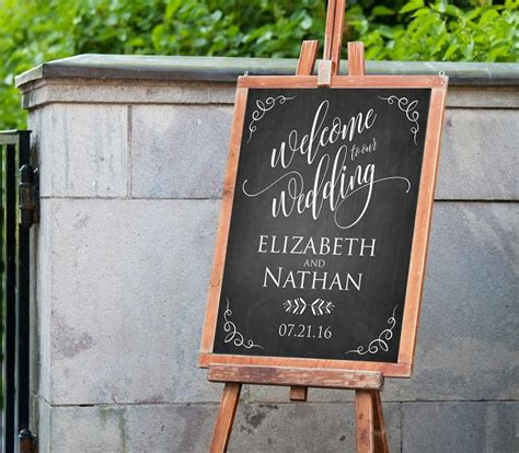 wedding  sign template instant  editable