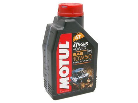 Motul Motor Oil 4-stroke 4t Atv-sxs Power 10w50 1 Liter