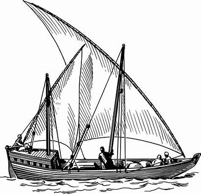Ship Clip Sailing Clipart Sail Boat Transparent
