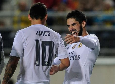 Real Madrid transfer news: James Rodriguez and Isco 'to be ...