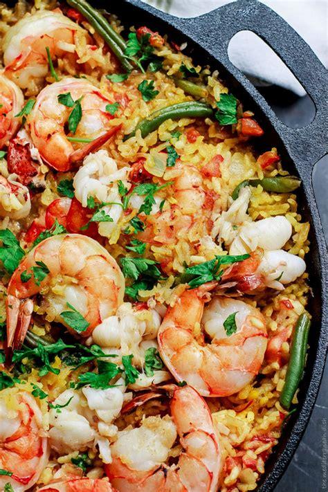 easy seafood paella recipe keeprecipes  universal