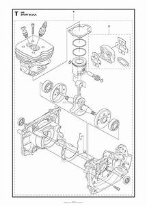 Husqvarna 555 Rxt Parts Diagram For Short Block