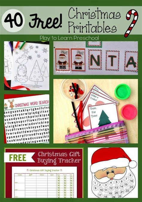 17 Best Images About Seasonal December (winter Holidays And Christmas Preschool And