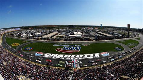 2018 Nascar Schedule Release Charlotte's Playoff Race