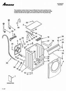 Amana Residential Washer Parts