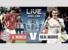 Resultado y goles Bayern Múnich 12 Real Madrid en