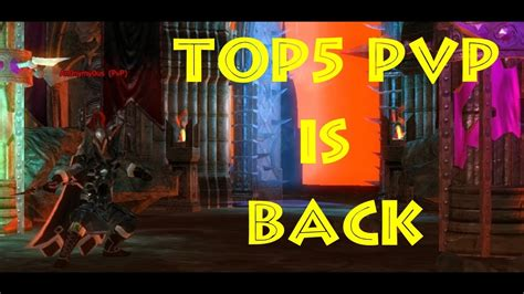 TOP5 PvP is Back - YouTube
