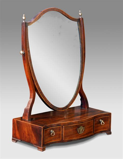 Antique Dressing Table Mirror, Antique Swing Mirror