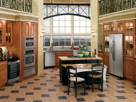 flooring options for kitchen cork flooring for your kitchen hgtv 3466