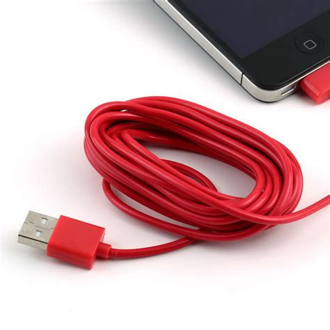 10 foot iphone 5 charger 3m 10 ft usb charging charger cable cord for apple iphone
