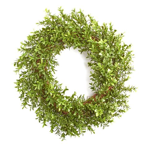 artificial boxwood wreath wreaths floral supplies