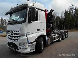 Mercedes Benz Arocs : used mercedes benz arocs 3251 kran vaxlare crane trucks ~ Jslefanu.com Haus und Dekorationen
