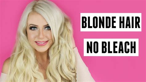 blonde hair   bleach tutorial diy  home