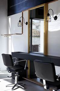 Sophisticated Interior Of Rare Hair Salon By Interior