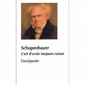 Paradoxe L'art d'avoir toujour raison, Arthur Schopenhauer