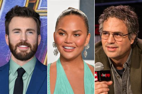 Chrissy Teigen offers Chris Evans support after penis pic leak