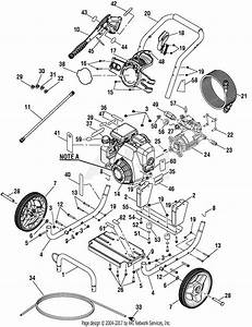 Homelite Bm80915d 3000 Psi Pressure Washer Parts Diagram