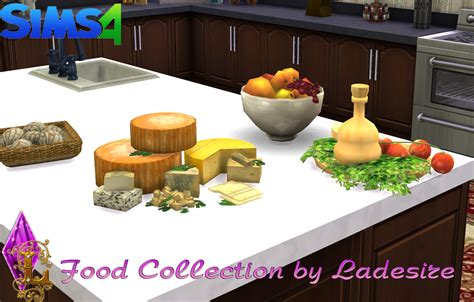 cuisine sims 3 my sims 4 decorative food by ladesire