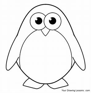How To Draw A Penguin – Your Drawing Lessons