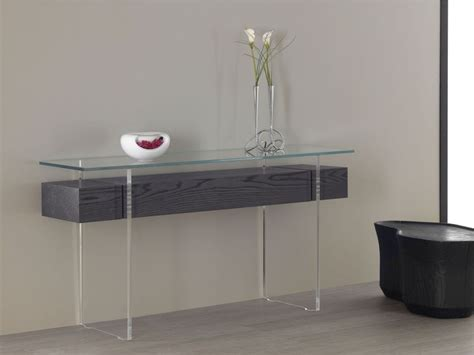 table bureau verre glass console tables why we them and how to use them