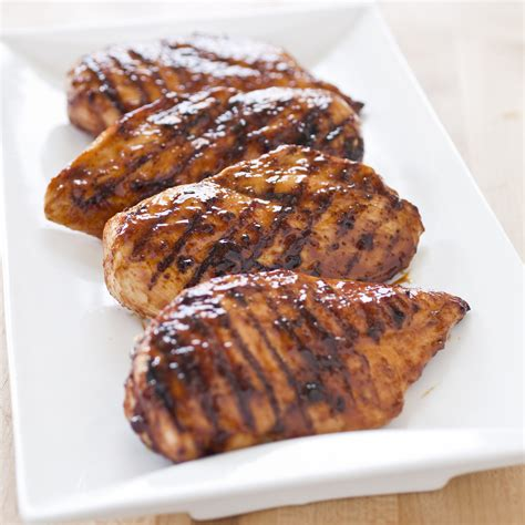broiled boneless skinless chicken breast grilled glazed boneless skinless chicken breasts america s test kitchen