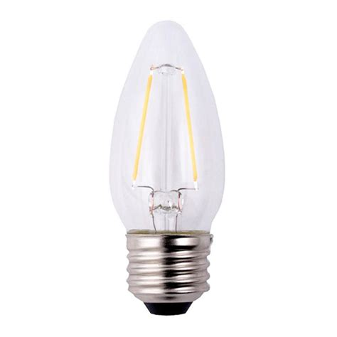4 led light bulbs ecosmart 40w equivalent soft white b11 filament dimmable