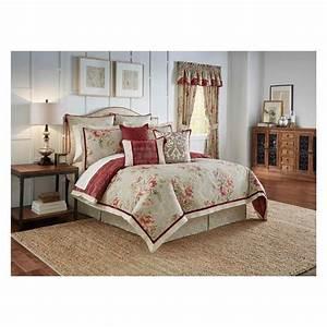 Floral, Fresco, Flourish, Reversible, Comforter, Set, Queen