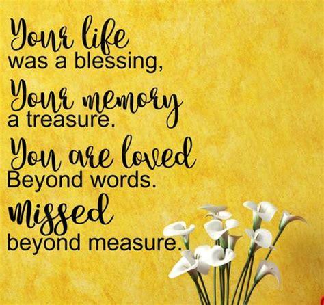 memorian sympathy  memory wall decals quotes