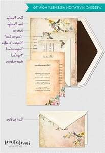 Order of wedding invitations akaewncom for Wedding invitation stuffing order