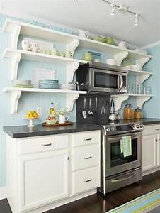 a small cottage kitchen makeover in new york hooked on With kitchen colors with white cabinets with what do the stickers on fruit mean