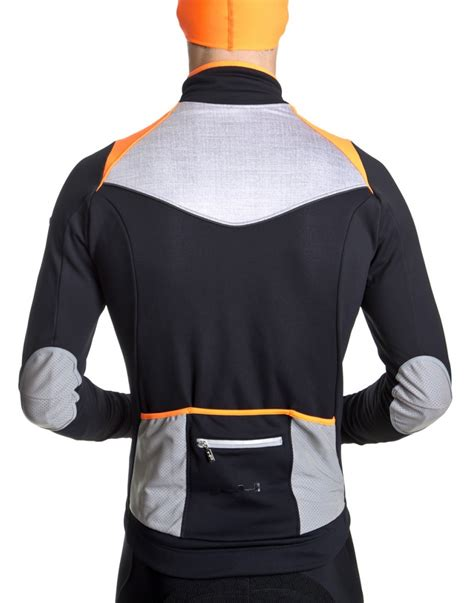 winter bicycle jacket men 39 s orange winter cycling jacket g4 dimension
