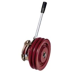 manual clutch twin spb mm pulley kent marine