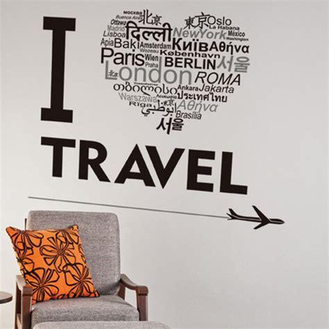 love travel wall sticker travel bible shop