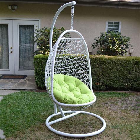 Rattan Hammock Chair white lime wicker rattan swing chair weaved egg shape