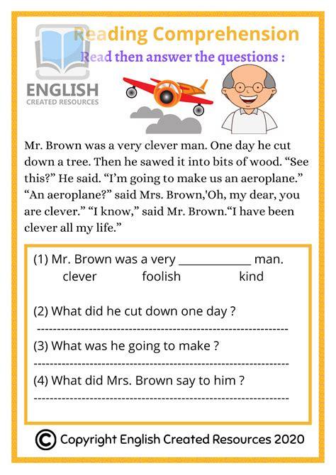 reading comprehension grade