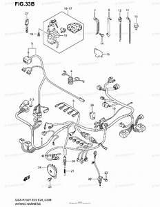 Suzuki Motorcycle 2003 Oem Parts Diagram For Wiring