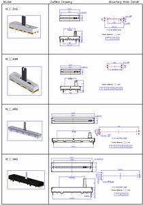 Slide Potentiometer Wiring Diagram  Dengan Gambar