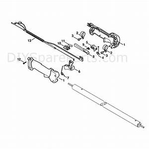 Stihl Ht 101 Pole Pruner  Ht101  Parts Diagram  Handle