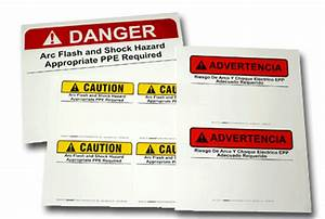 Ezmaker sign system safetycal inc for How to read arc flash labels