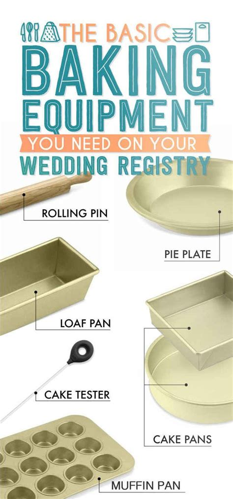basic kitchen supplies the essential wedding registry list for your kitchen wedding word doc and cooking equipment