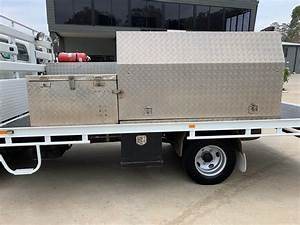 2010 Fuso Canter Manual Service Body Truck